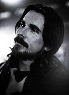 "wmagazine: "" Shape-Shifter: Christian Bale Photograph by Andreas Laszlo Konrath; W magazine February "" Batman Begins, Christian Bale, Gorgeous Men, Beautiful People, 3 10 To Yuma, Good Knight, Dark Knight, American Psycho, American Actors"