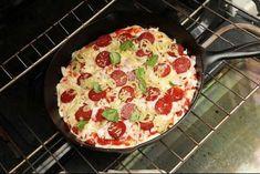 Как приготовить пиццу, не вымешивая тесто