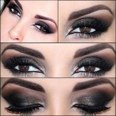 60+ Most Sexy Mistery Brown Eye Makeup Inspirational Looks For You Should Try - Page 25 of 63 - Coco Night Makeup Looks For Brown Eyes, Smokey Eye For Brown Eyes, Smokey Eye Makeup, Black Smokey, Smokey Eyeshadow, Sultry Makeup, Dramatic Makeup, Dramatic Eyes, Eyeshadow Makeup