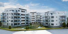 A dream living place for you in Sweden? #CGI #exterior #landscape #condominium #3D