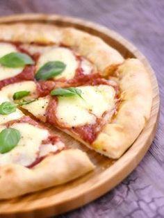 Pâte à pizza épaisse et moelleuse - Recette de cuisine Marmiton : une recette