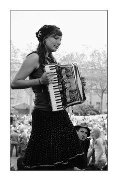 Accordion Girl by malchikwik.deviantart.com on @deviantART