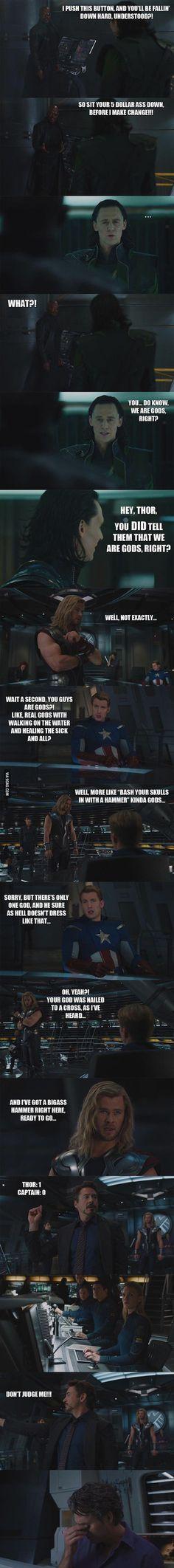 Hahaha - Just Avengers
