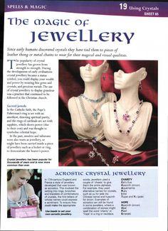 Magic of jewelry