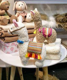 Llama Pillow, Teddy Bear, Pillows, Toys, Children, Animals, Feltro, Tejido, Activity Toys