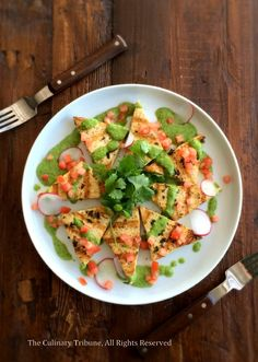 Grilled Tofu with Veggies & Green Sauce