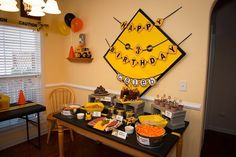"""Photo 1 of 15: Construction / Birthday """"I Dig Being 3! Construction Party"""" 
