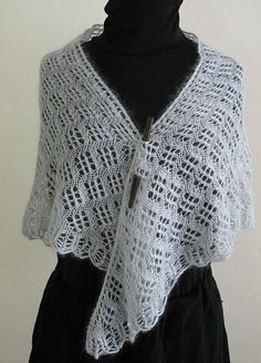 Lovely new shawl design added to Ravelry that uses Artyarns Silk Mohair Glitter: http://www.ravelry.com/patterns/library/mount-tamalpais-shawl