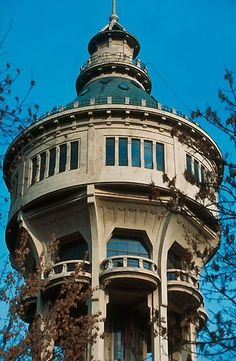 Budapest Watertower, 101 years old and rising 57 metres into the sky!