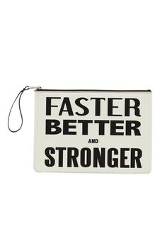 Limited Edition Faster, Better And Stronger Clutch