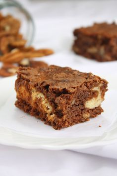 Brownies Marmoleados