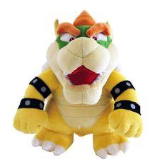Nintendo 26cm Super Mario Bros Plush Sanei Bowser by Nintendo @ niftywarehouse.com #NiftyWarehouse #Mario #SuperMario #Nintendo #VideoGames #Gaming #MarioBrothers