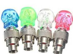 AFS Skull Shape Blue Bicycle LED Light Lamp with Built-in Motion Sensor At Rs.135