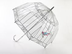 Lulu Guinness Birdcage Bubble Umbrella - Raindrops Umbrellas & Rainwear Canada