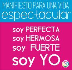 La vida es más dulce si se comparte. Comparte ese post con otras mujeres igual de perfectas como tú. Visita: http://www.mariamontemayor.com/#!el-arte-de-amar-tu-cuerpo/ctzi