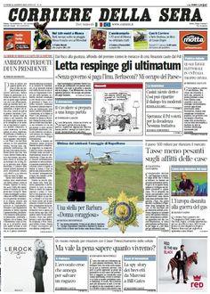 Il Corriere della Sera (12-08-13) Italian | True PDF | 36 pages | 12,22 Mb