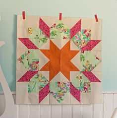 Swoon block #2 by BlueElephantStitches, via Flickr