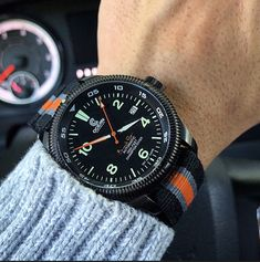 Ocean Crawler Barracuda Point Watch - Use Code: DW01 for a 25% discount.