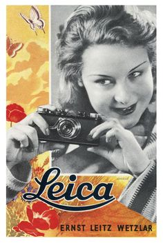 Posts about Leica Rangefinder written by Leicaphila Girls With Cameras, Old Cameras, Vintage Cameras, Vintage Advertising Posters, Vintage Advertisements, Vintage Ads, Leica Photography, Abstract Photography, Portrait Photography