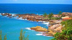 Praia do Ouvidor Santa Catarina - Retirado do Site do Expedição Andando por Aí...