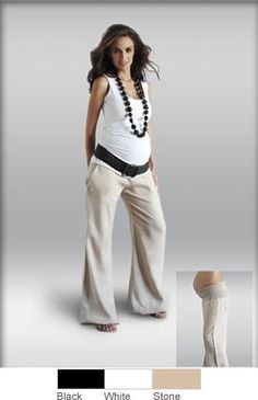 Linen Pants, def gonna need these when I'm pregnant!