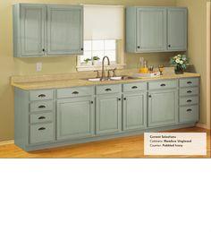 Rustoleum Cabinet Transformations Kit - Linen uppers, Glazed ...