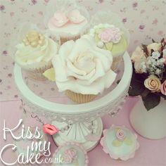 Kiss My Cake - PHOTO GALLERY Vintage cupcakes, wedding cupcakes