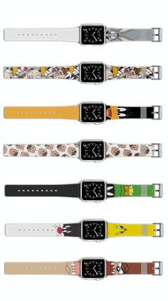 New Looney Tunes Apple Watch bands!