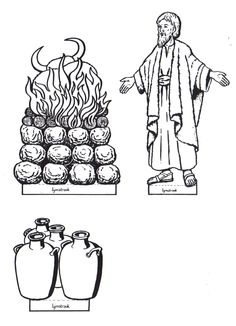 Elijah And The Prophets Of Baal Puzzle (Activity Sheet