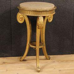 900€ French tripod table with marble top. Visit our website www.parino.it #antiques #antiquariato #furniture #golden #antiquities #antiquario #comodino #golden #gold #tavolino #nightstand #table #night #decorative #interiordesign #homedecoration #antiqueshop #antiquestore