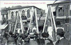 Eminönü'nde İdam Sehpaları / 3 Mayıs 1903