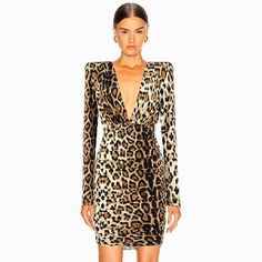 Color : Black Style : Sexy & Club Material : Polyester, Spandex Occasion : Evening Party, Nightclub, Cocktail, Runway The post Sexy Leopard Deep V- Neck Night Out Party Mini Dress appeared first on Power Day Sale.