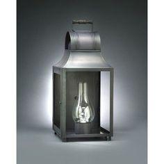 Northeast Lantern Livery 1 Light Outdoor Flush Mount Finish: Dark Antique Brass, Shade Type: Seedy Marine