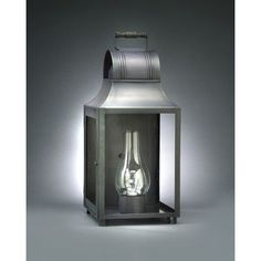 Northeast Lantern Livery 3 Light Outdoor Flush Mount Finish: Antique Brass, Shade Type: Clear Seedy