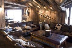 Location prestige Chalet COURCHEVEL 1850 : Le chalet CROC BLANC est situé prés du centre et ...