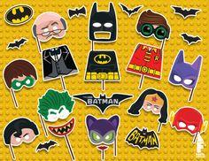 Printable Batman Lego Movie Props  Lego photo by FiestaSupplies