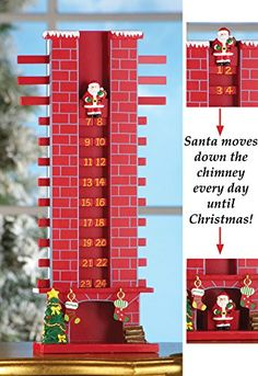 Chimney Countdown 'Til Christmas Day Advent Decor Collections Etc http://www.amazon.com/dp/B00O2ONSRW/ref=cm_sw_r_pi_dp_ul-Eub1M4GX4N