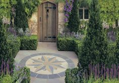 Stonemarket Vintage Manor Compass A nice feature patio for the middle of our garden...