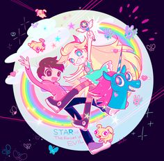 I'm A Magical Princess From Another Dimension., etoilebulle: 親友!star vs the forces of evil
