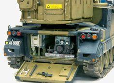 M113 - Green Archer (Mortar Locating Radar) 1/35 Scale Model