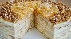 Mille Crepe Lemon Cake – Bruno Albouze No Bake Desserts, Delicious Desserts, Crepe Suzette, Biscuits, French Crepes, Crepe Recipes, Mille Crepe, Caramel, Sweet Tooth