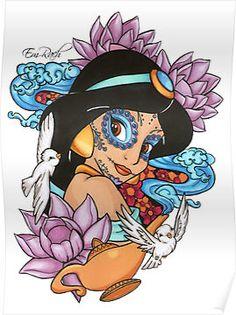 sugar skull jasmine