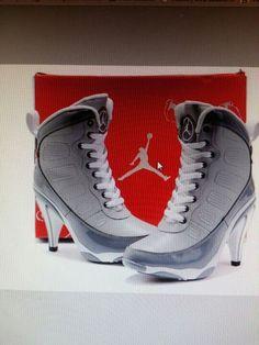 Ladies Jordan Heels