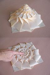 Origami   Chris Palmer (take a look at the Shadowfolds folder on Flickr)