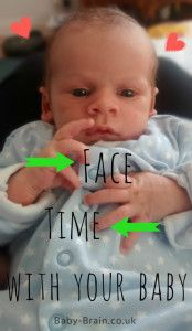 Face time your baby! The importance of talking with newborns and psychology of interaction