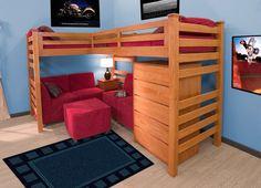 Best Bedroom Ideas On Pinterest Loft Beds Double Loft Beds 640 x 480