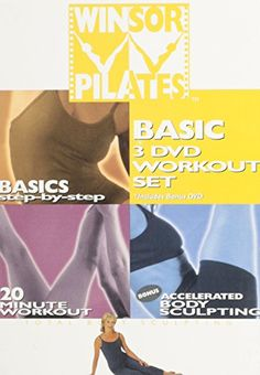 Winsor Pilates Basic 3 DVD Workout Set Basics StepbyStep  20 Minute Workout  Accelerated Body Sculpting >>> AMAZON Great Sale