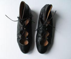 NORMA KAMALI corset lace up ballet flats, 9 9.5