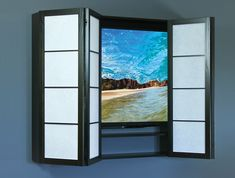 Cherry Tree Design Flat Screen Surrounds | Flat Screen Cabinet 138