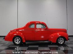 1940 Ford Coupe...Mine will soon be finished without the chrome and hideaway hinges and handles!!!